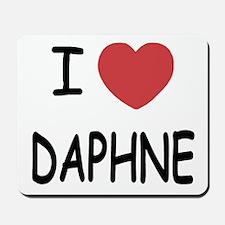 I heart DAPHNE Mousepad