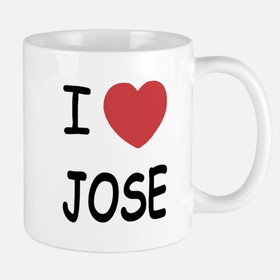 I heart JOSE Mug