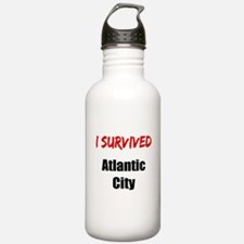I survived ATLANTIC CITY Water Bottle