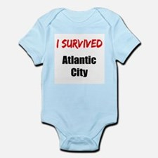 I survived ATLANTIC CITY Infant Bodysuit