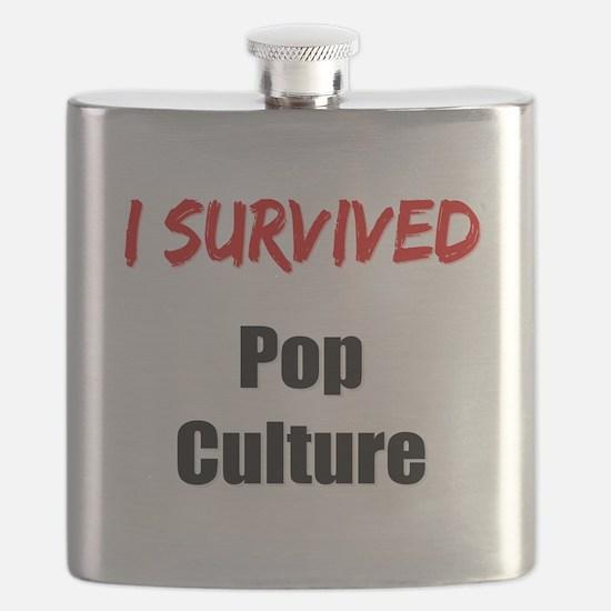 I survived POP CULTURE Flask