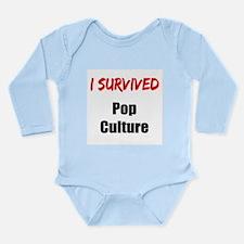 I survived POP CULTURE Long Sleeve Infant Bodysuit