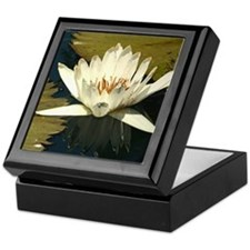 White Water Lily Keepsake Box