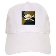 White Water Lily Baseball Cap