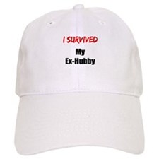 I survived MY EX-HUBBY Baseball Cap