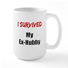 I survived MY EX-HUBBY Mug