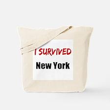 I survived NEW YORK Tote Bag