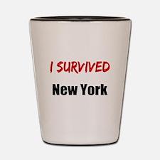 I survived NEW YORK Shot Glass