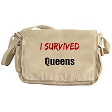 I survived QUEENS Messenger Bag