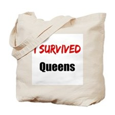 I survived QUEENS Tote Bag