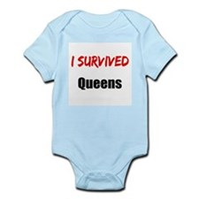 I survived QUEENS Infant Bodysuit