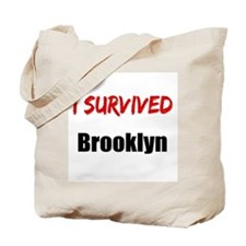 I survived BROOKLYN Tote Bag