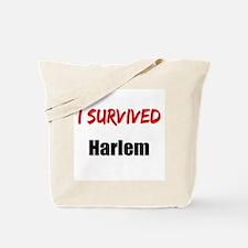 I survived HARLEM Tote Bag