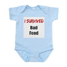 I survived BAD FOOD Infant Bodysuit