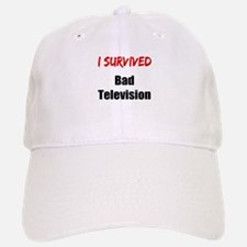 I survived BAD TELEVISION Baseball Baseball Cap