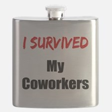 I survived MY COWORKERS Flask
