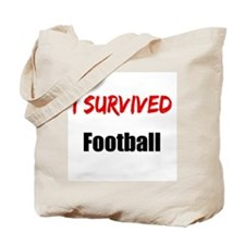 I survived FOOTBALL Tote Bag