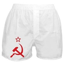 Star, Hammer and Sickle Boxer Shorts
