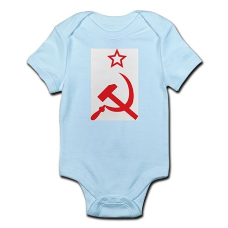Star, Hammer and Sickle Infant Creeper