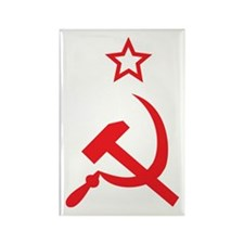 Star, Hammer and Sickle Rectangle Magnet (100 pack