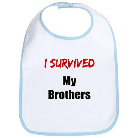 I survived MY BROTHERS Bib