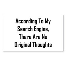 There Are No Original Thoughts Decal