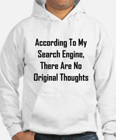 There Are No Original Thoughts Hoodie