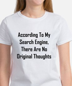 There Are No Original Thoughts Women's T-Shirt