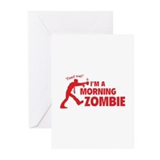 Morning Zombie Greeting Cards (Pk of 20)