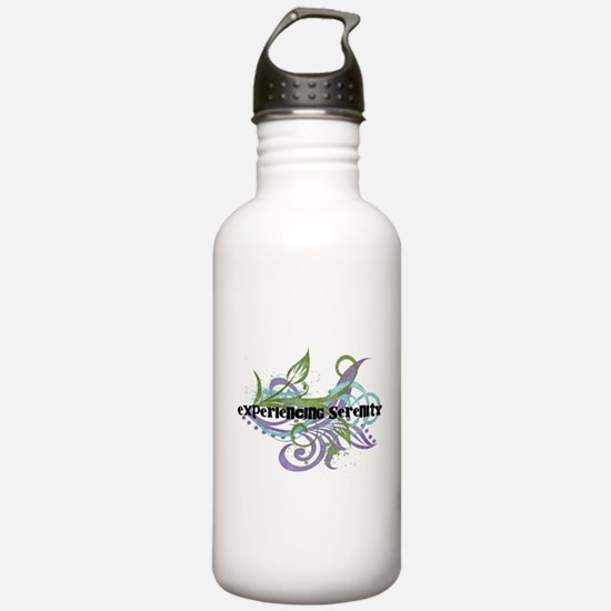 Experiencing Serenity Water Bottle