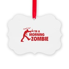 Morning Zombie Ornament