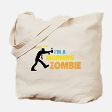 Morning Zombie Tote Bag