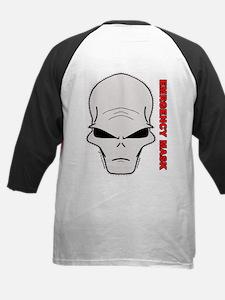 Emergency mask - Alien Kids Baseball Jersey