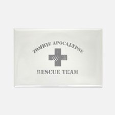 Zombie Apocalypse Rectangle Magnet (10 pack)