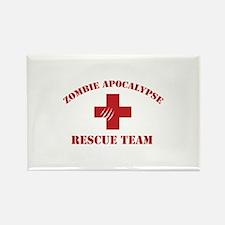 Zombie Apocalypse Rectangle Magnet (100 pack)
