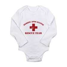 Zombie Apocalypse Long Sleeve Infant Bodysuit