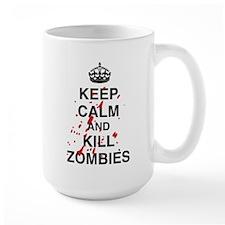 Keep Calm And Kill Zombies Mug