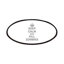 Keep Calm And Kill Zombies Patches