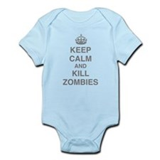 Keep Calm And Kill Zombies Infant Bodysuit