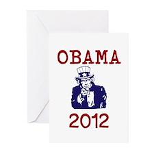 Obama 2012 Greeting Cards (Pk of 20)