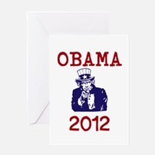 Obama 2012 Greeting Card
