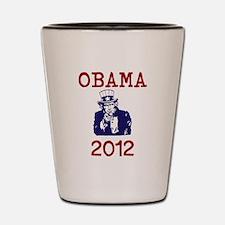 Obama 2012 Shot Glass