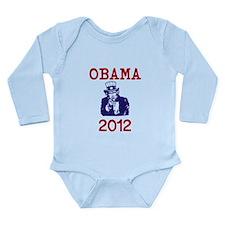 Obama 2012 Long Sleeve Infant Bodysuit