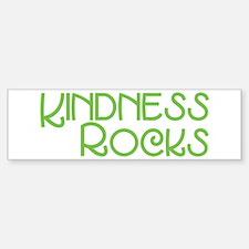 Kindness Rocks, Lime Bumper Bumper Sticker