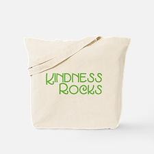 Kindness Rocks, Lime Tote Bag