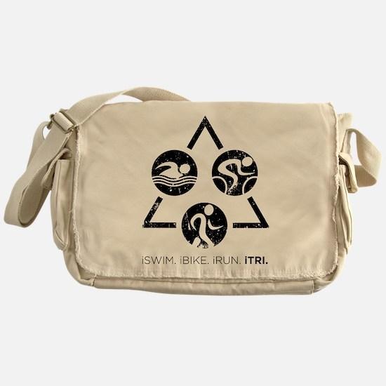 iSwim iBike iRun iTri Messenger Bag