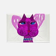 Diva Kitty Rectangle Magnet