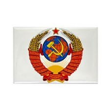 Soviet Union Coat of Arms Rectangle Magnet