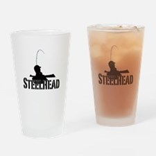 Steelhead fishing Pint Glass