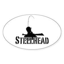 Steelhead fishing Decal
